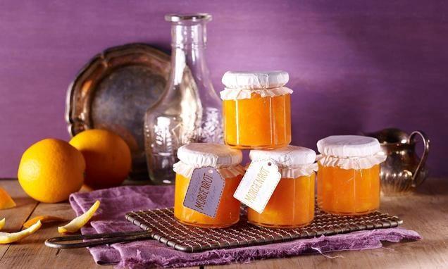 Morgenrot - Orangen-Möhrenmarmelade