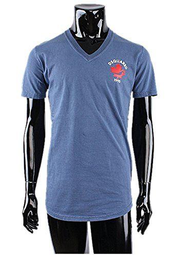 (ディースクエアード) DSQUARED2 Men's T-shirt メープルロゴ ブルー Vネック S74GC... https://www.amazon.co.jp/dp/B01HER36YS/ref=cm_sw_r_pi_dp_hf0AxbGBXR20D