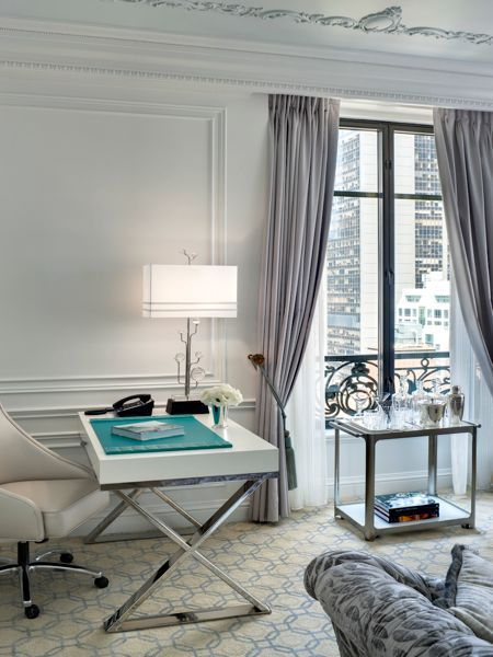 Tiffany Suite At The St Regis In Love With The Moldings