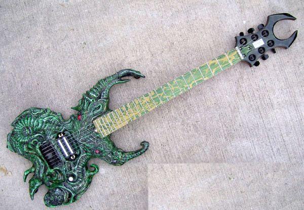 Guitarra eléctrica Cthulhu