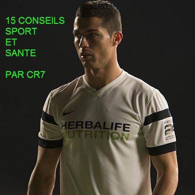 Découvrez les 15 conseils Sport et Santé par Cristiano Ronaldo 1. Apprenez à entrainer votre esprit ainsi que votre corps. La force mentale est tout aussi importante que la force physique et vous aidera à atteindre vos objectifs. 2. Etre discipliné. Garder sa motivation et se tenir à sa routine est la clé. Pour moi il n'y a pas de place pour se relacher donc je dois être intransigeant avec moi même. 3. Fixez-vous des objectifs. Cela va vous aider à rester concentré et travailler vers vos…