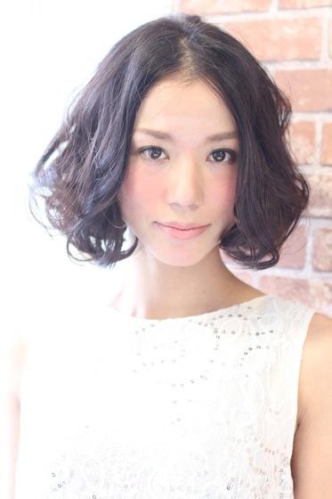 黒髪☆ボブパーマ   ヘアスタイル   AFLOAT SKY / アフロートスカイ 【東京都港区】