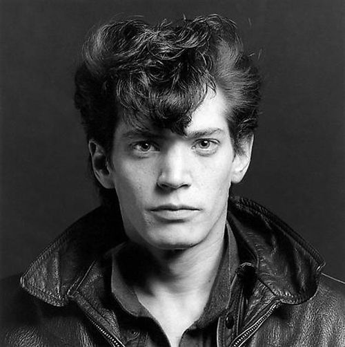 Robert Mapplethorpe, self-portrait, 1980.