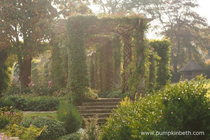 West Dean Gardens in West Sussex are beautiful. This is a wonderful garden to visit.