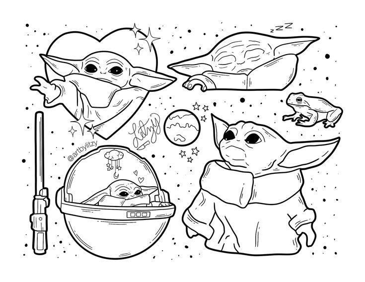 Artbylitzy On Twitter Star Wars Drawings Star Wars Tattoo Yoda Drawing