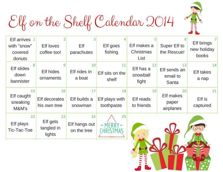 Elf on The Shelf Favorites