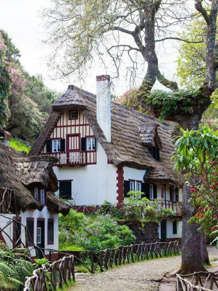 149 Best Fabled Cottage Images On Pinterest Beautiful Homes Cottages And Dreams