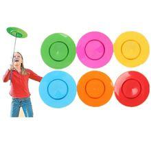 Niños Volante Discos Discos Voladores Niños Al Aire Libre Diversión Practicar de Integración Sensorial Juguetes Fiesta de Cumpleaños Favores Malabares Prop(China (Mainland))