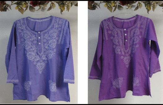 Our wide selection of #cotton #tunics for women on #Sale at #YoursElegantly.  This cotton designer #top features hand #embroidery that is #elegant and unique #designed and done by skilled artisans in India. The slight variations in the embroidery maintain the uniqueness of each top. Take advantage of our #wholesale pricing for everyone, without the retail markups.    Price: $34.99   #CottonTunicTopsForWomen #IndianTunics #IndianTunicsTopsForWomen #CottonTunics #CottonTunicTops