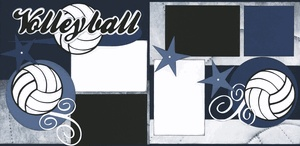 Volleyball Page Kit