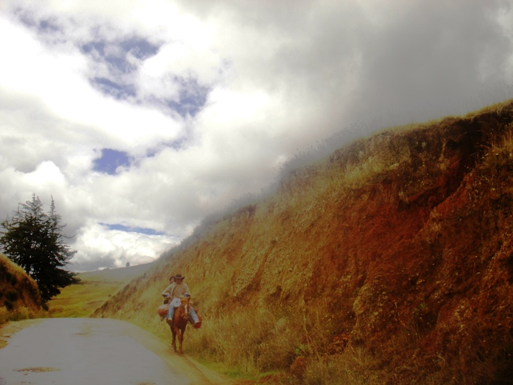 Somewhere in Boyacá.