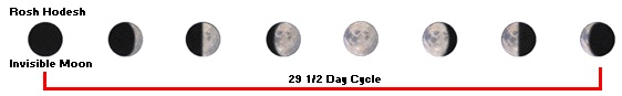 Phases of the Moon to watch for during the Hebrew Month