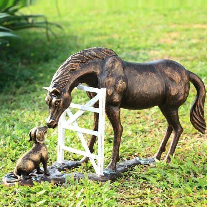 Horse Dog | Garden Sculpture | SPI