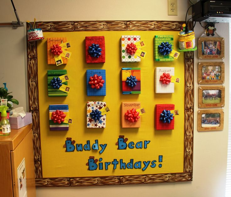 birthday bulletin board ideas for preschool | birthday bulletin board tip put the title of your bulletin board below ...