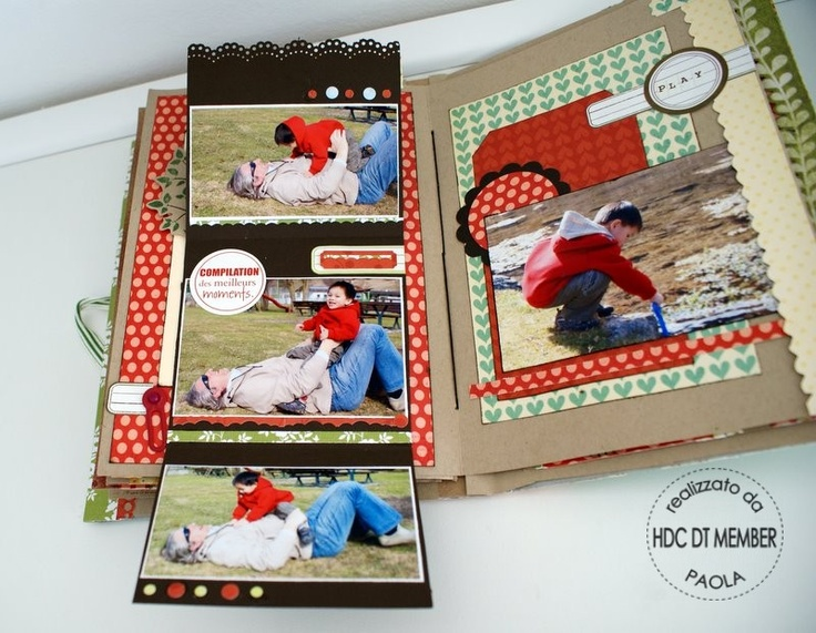 "Hobby di Carta - Il blog: ISPIRAZIONI: ""Mini-album the Story of today"" by Paola"