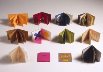 I Prelibri (1980 Danese - 2002 Corraini) 12 importanti libri illeggibili, polimaterici, prescolastici, per l'educazione visiva e lo stimolo della fantasia