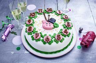 Silvester-Torte