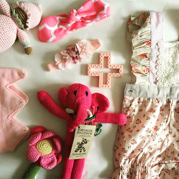 Pink baby clothes & gifts