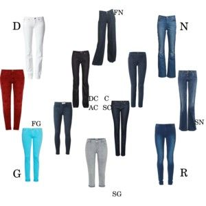 Essential jeans by kibbe type