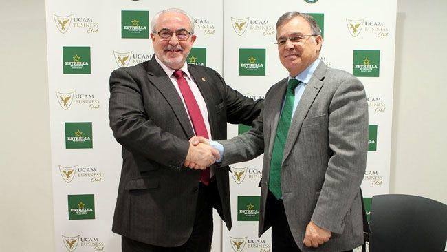 La UCAM y Estrella Levante renuevan su vínculo por dos años