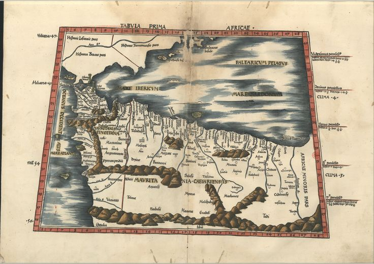 "C.A. 152 V. - 0200 - Ptolomeu (ca 90-ca168) – ""Claudii Ptolemaei viri Alexandrini Mathematicae…"".   Argentinen : Joannis Schotti, 1513.  BNP C.A. 152 V."