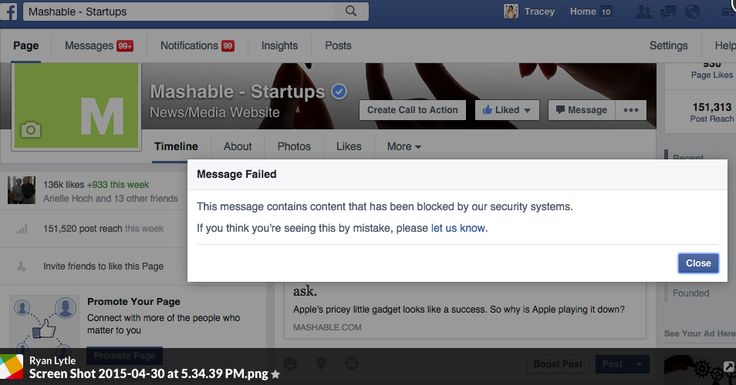Facebook posts mysteriously disappear reported by some users.