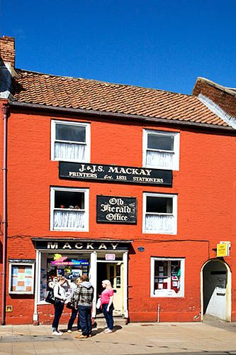 Stationers Shop on the High Street Morpeth Northumberland England, via Flickr.