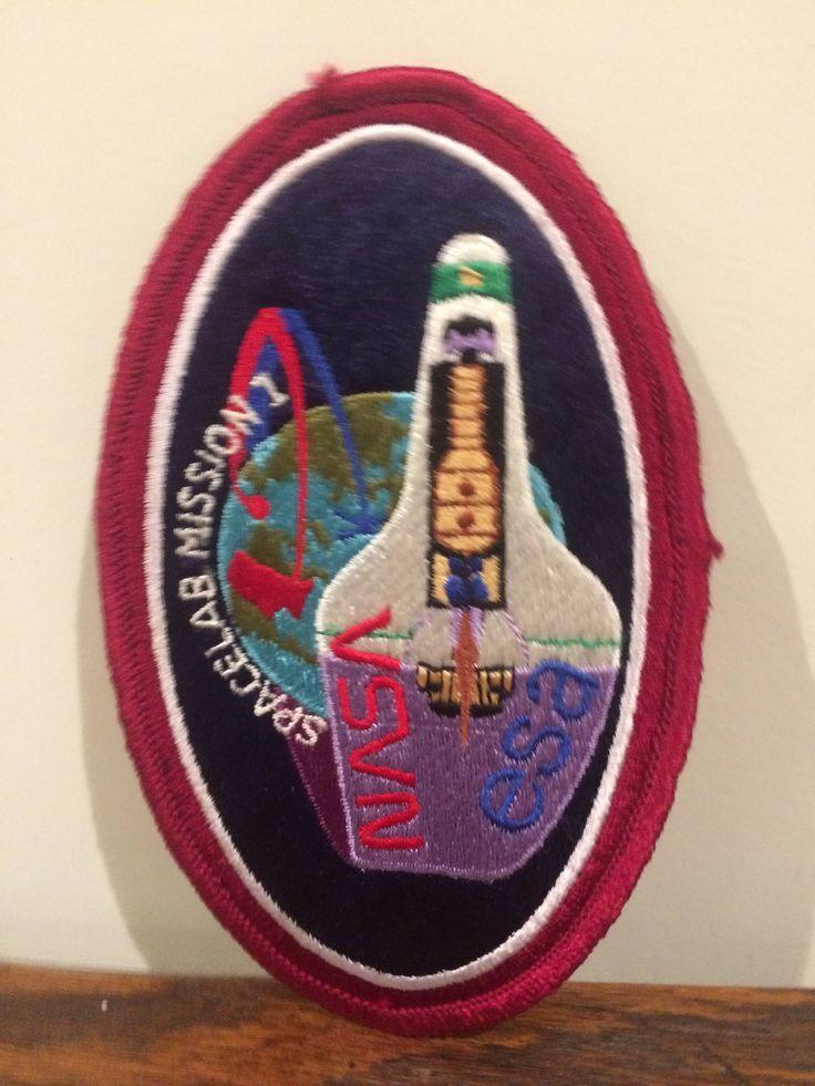 Spacelab Mission 1 Nasa Esa Nasa Space Program Original Oval Patch by TaniastreasuresFinds on Etsy https://www.etsy.com/listing/534449942/spacelab-mission-1-nasa-esa-nasa-space