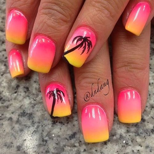32 Sommernägel mit allen Handflächen! Hashtag Nail Art – Nagelkunst Design