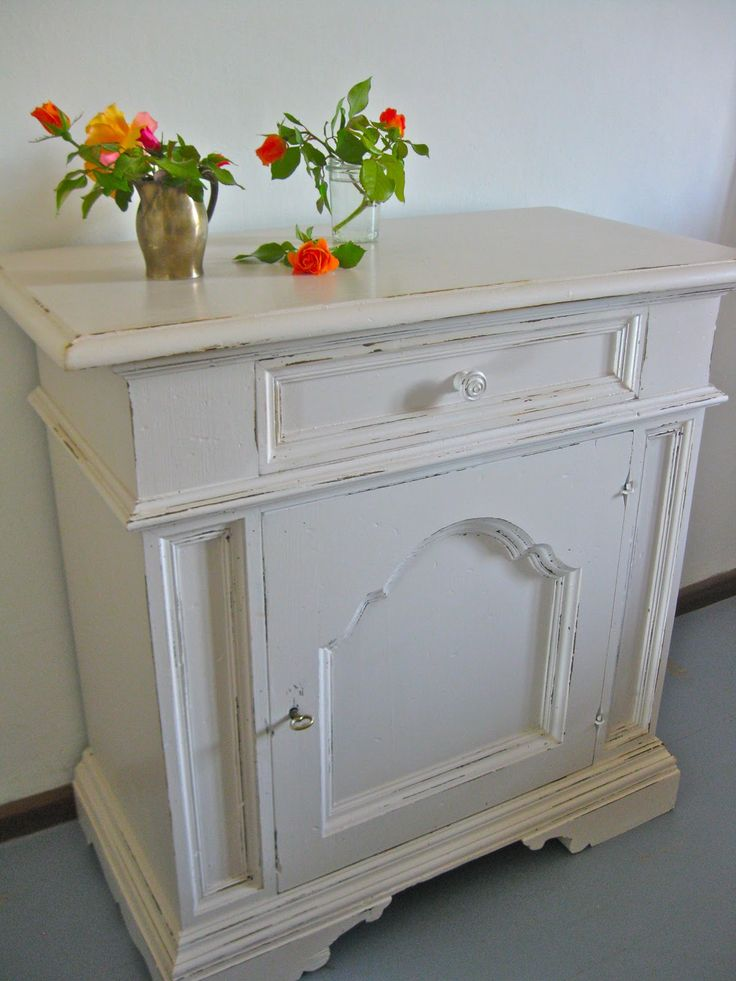 Sette Design: Paint-Distress-Stain or Wax the distressed spots.