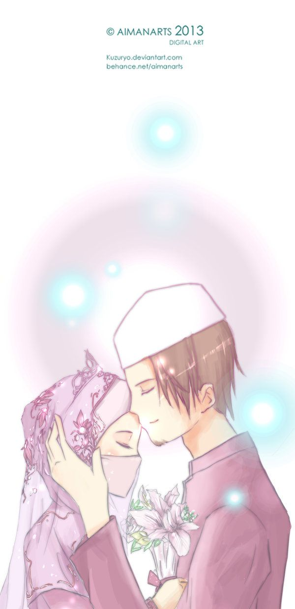 Me and my future husband in anime hahahah jk I wish tho inshallah