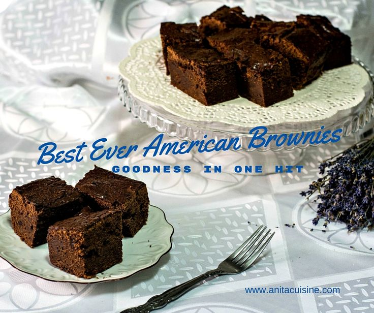 "It's fudgy, dense, chewy and delicious, it's ""the best brownie from the home of brownies"" ! I was looking for the ultimate brownies and have tried many recipes."