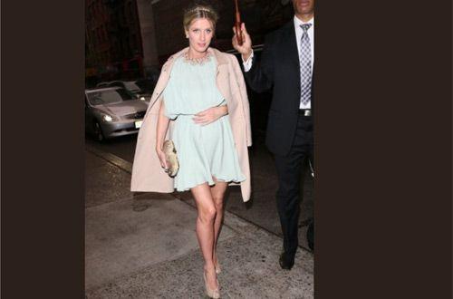 Ники Хилтон не планирует отказываться от обуви на каблуке из-за своей беременности