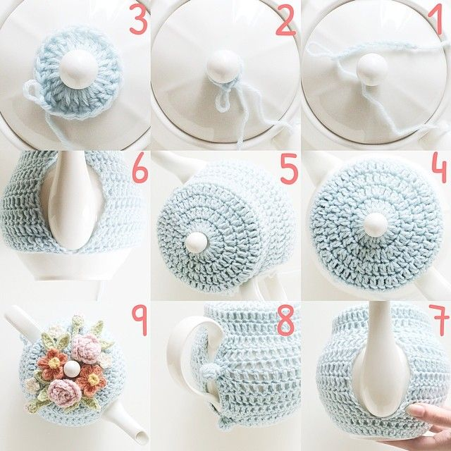 #tutorial tea cozy                                                       …