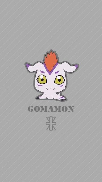Gomamon chibi. Reliability . Digimon Adventure Tri.