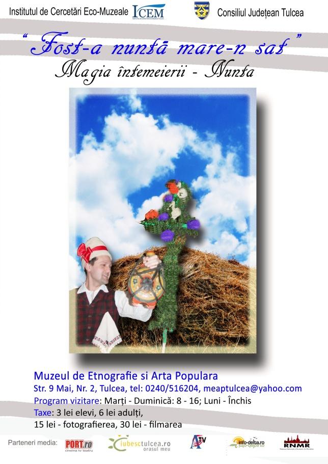 Vernisajul expoziţiei Fost-a nuntă mare-n sat. Magia întemeierii – Nunta | MEAP Tulcea - un blog de muzeu prietenos :)