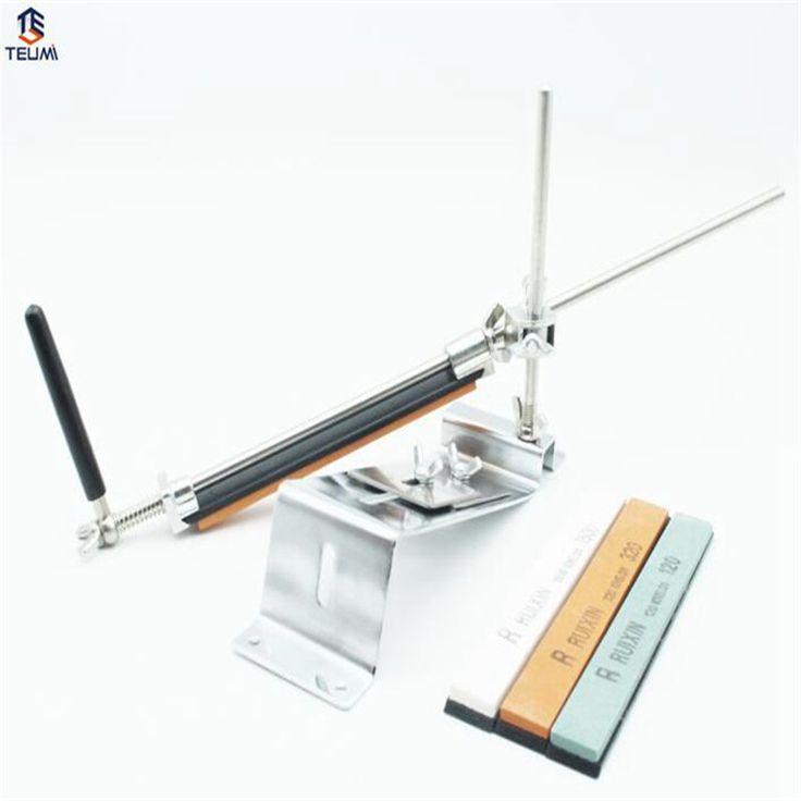 Ruixin Pro iii Knife Sharpener Stainless 1 Set Sharpening Stone Set  Professional Kitchen Knife Sharpener Kitchen Accessories #Affiliate
