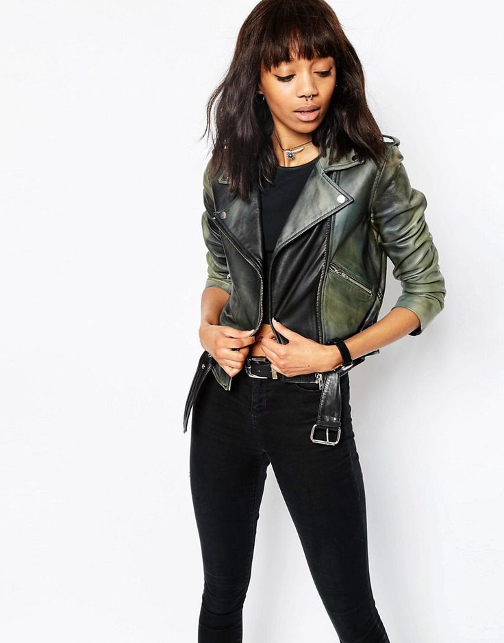 s p r n 1 3 LOVE this from ASOS! leather jacket
