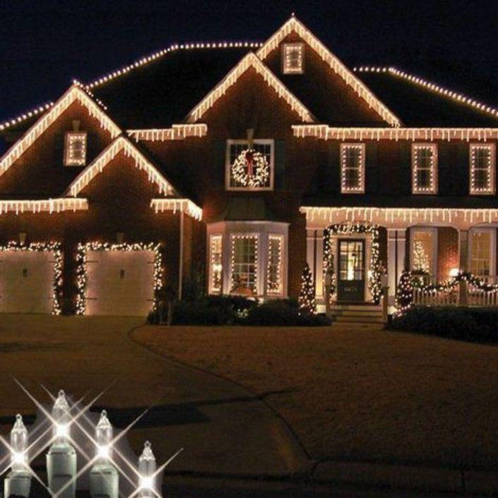21 Awesome Outdoor Christmas Lights House Decorations Ideas 7 Outdoor Christmas Christmas Lights Outside Christmas House Lights