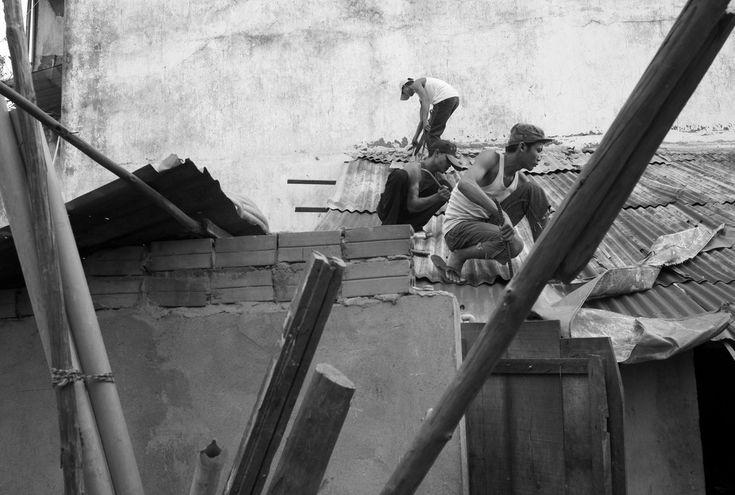 John Vink CAMBODIA. Phnom Penh. 23/07/2007: Eviction of Dey Krohom (Terre Rouge).