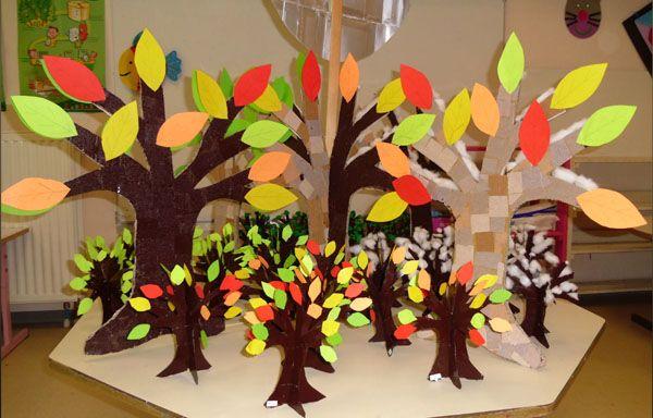 arbre automne_bricolage enfants maternelle