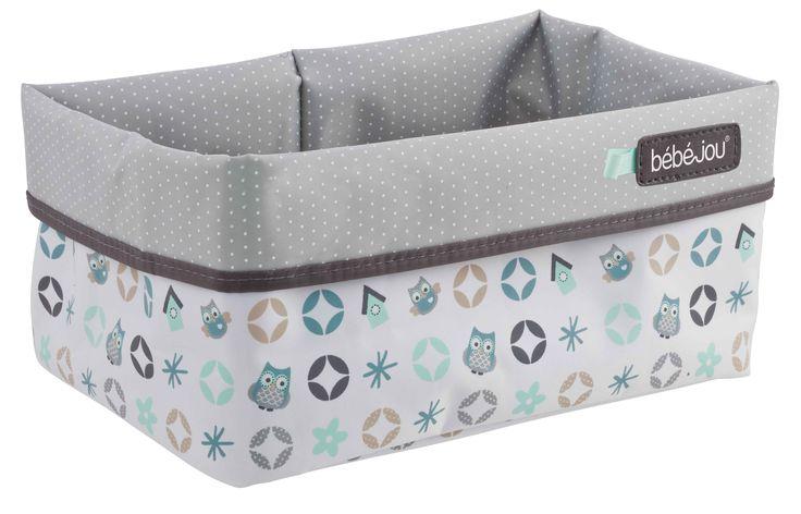owl family nursery basket, verzogingsmandje voor op de kinderkamer