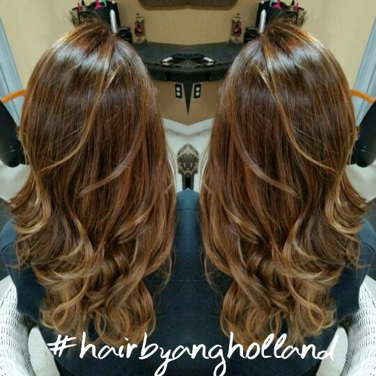 Caramel Chestnut hair