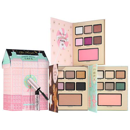 too faced 'grand hotel cafe'. $49. eek! can't wait for this to arrive - it's going to make a great addition to the decor in my beauty room!
