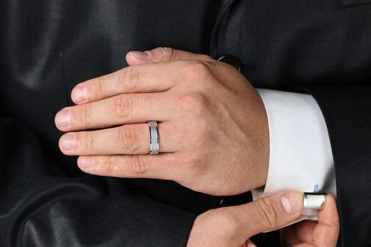 Verigheta barbat aur alb 18kt - RDWG008W pe https://www.royaldiamante.ro
