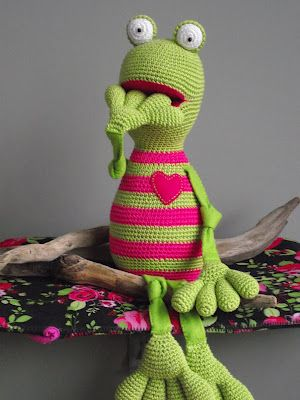 Another creature that comes to life at the hands of Wilma (willewopsie)