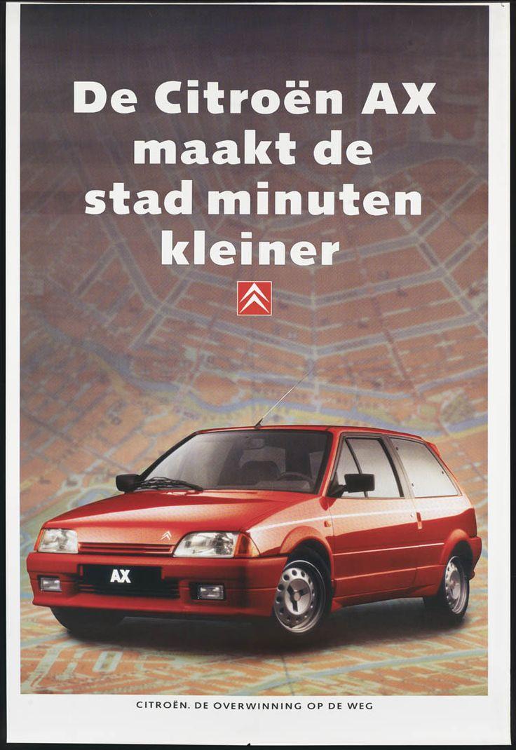 Citroen ax maakt de stad minuten kleiner het geheugen van nederland online beeldbank van irontoysfrenchlifecar