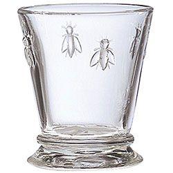 La Rochere Napleon Bee Glassware.  I first saw these at the Morton Arboretum Gift Shop.
