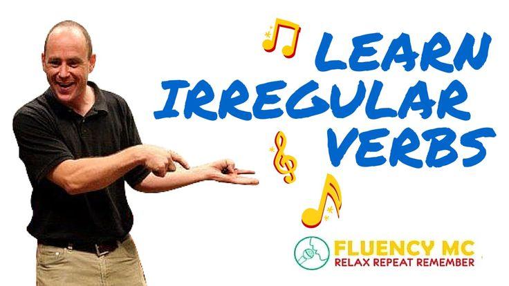 Learn English ESL Irregular Verbs Grammar Rap Song Stick Stuck Stuck wit...