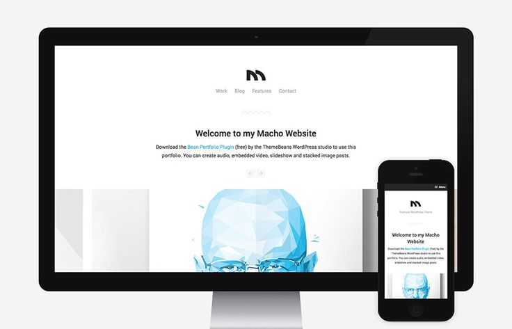 Macho is a nice & simple – yet full fledged agency inspired WordPress theme. Don't let it's relatively minimal appeal fool you… Macho is full of intricate and well thought-out functionality for WordPress beginners and developers alike. Did we mention there's built in compatibility to sell digital goods via Easy Digital Downloads? Nice!